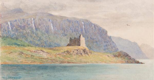 COLLINGWOOD William Gershom (1854-1932) - 'Ardtornish', Sound of Mull.