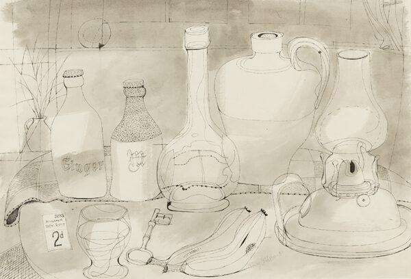 COLLINS Henry (1910-1994) - Still-life.