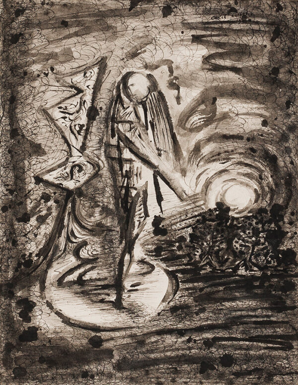 COLLINS Cecil (1908-1989) - 'Figure and Landscape'.