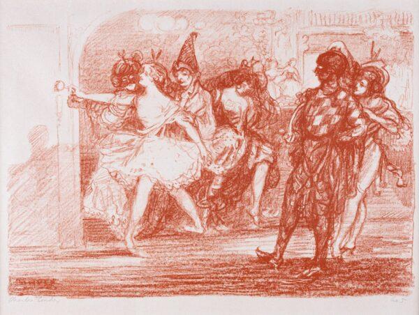 CONDER Charles (1868-1909) - 'L'entrée en Scene': for 'The Carnival Set' (CD.