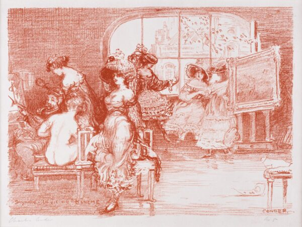 CONDER Charles (1868-1909) - 'Shaunard – La Vie de Boheme': from 'The Carnival Set' (CD.