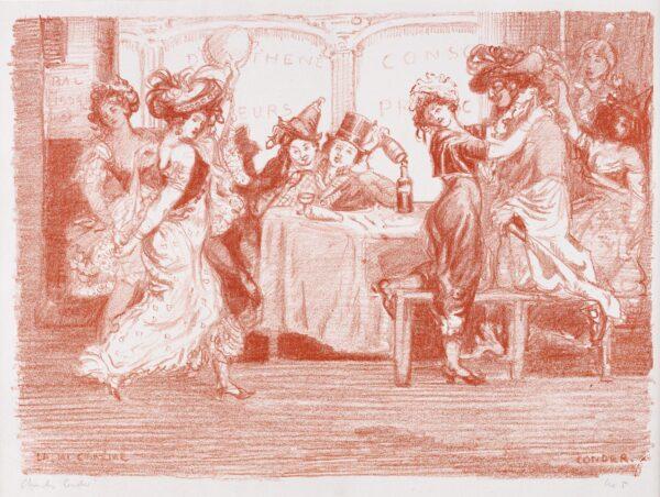 CONDER Charles (1868-1909) - 'La mi-careme': for 'The Carnival Set' (CD.