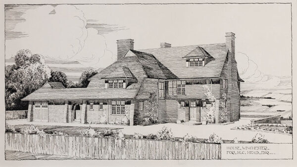 COOMBS D.W. (fl.1920) - Hampshire.