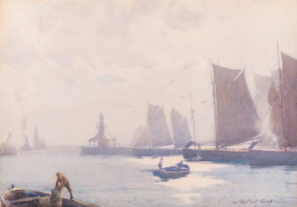 COOP Hubert R.B.A. (1872-1953) - Lowestoft pier.
