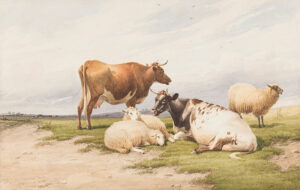 13. COOPER Thomas Sidney R.A. C.V.O (1803-1902) - Cattle and Sheep.