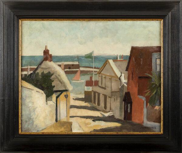 COOPER John P.E.L.G. (1894-1943) - 'Lyme Regis'.