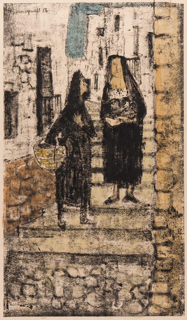 COPNALL John (1928-2007) - 'Street Scene'.
