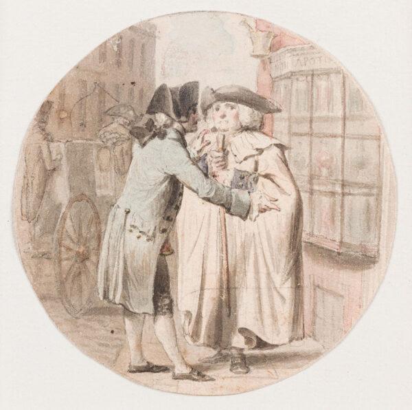 CORBOULD Richard (1757-1831) - A meeting.