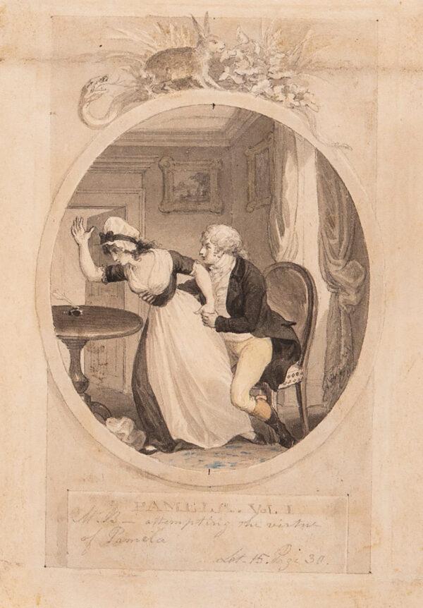 CORBOULD Richard (1757-1831) - 'Pamela.