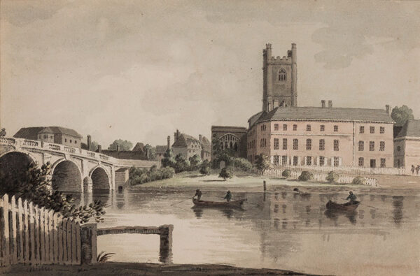 CORNISH Hubert (1757-1823) - 'Henley on Thames'.
