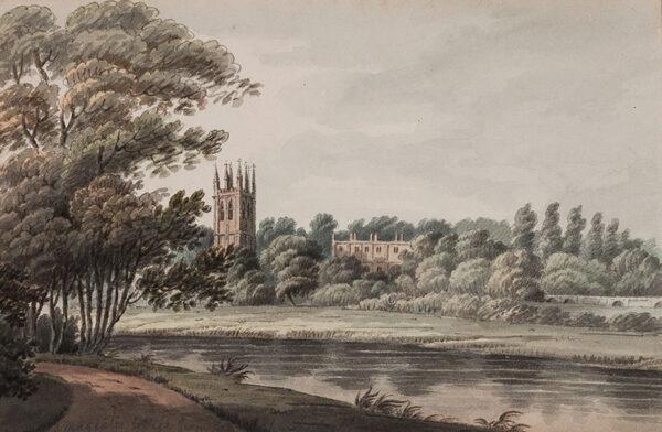 CORNISH Hubert (1757-1823) - Oxford.