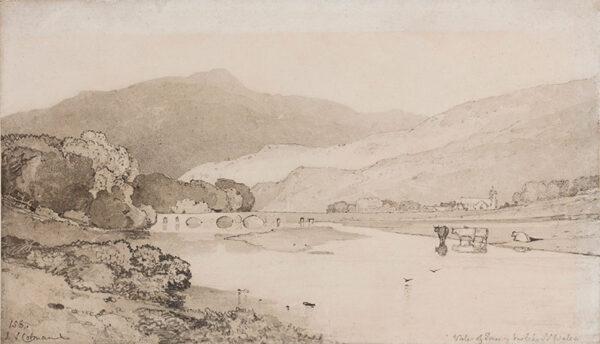COTMAN John Sell (1782-1842) - 'Vale of Tan y Bwlch, N.