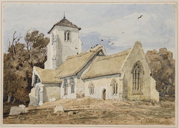 COTMAN Miles Edmund (1810-1858) - Norfolk.