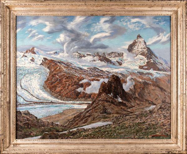 COVERLEY-PRICE Victor (1901-1988) - Zermatt: 'The Matterhorn from Riffelhorn'.