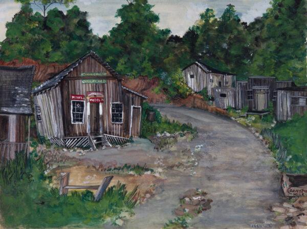 COWLES Fleur (1908-2009) - North Carolina: 'Henry's Grocery, Ellijay, N.