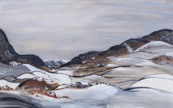 COWLES Fleur (1908-2009) - American Winter.