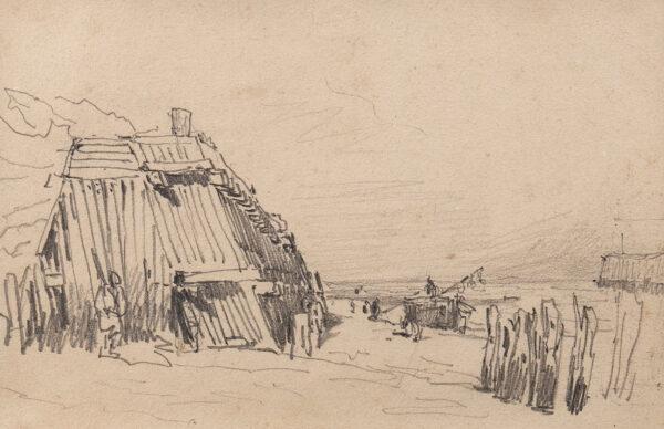 COX David O.W.S. (1783-1859) - 'The French Coast'.