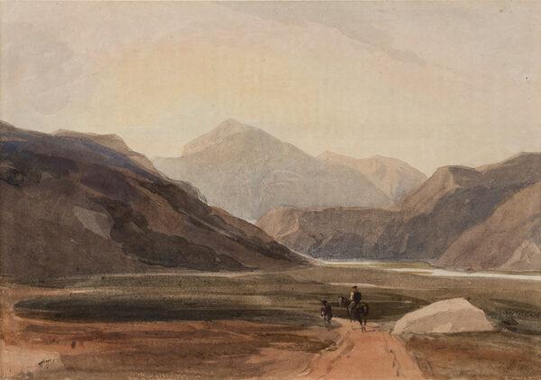COX David O.W.S. (1783-1859) - Snowdon.