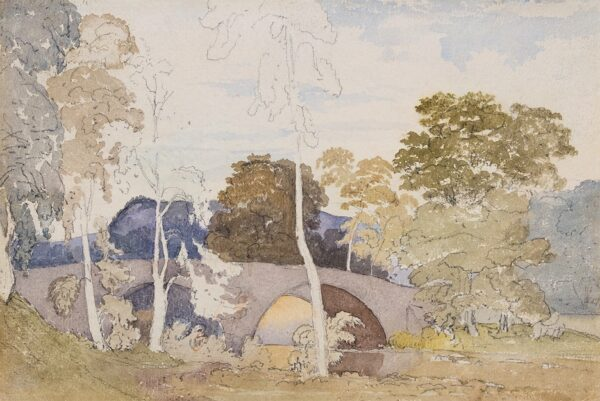 COX David O.W.S. (1783-1859) - Landscape study.