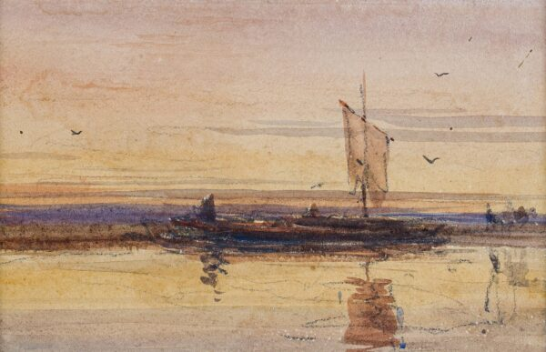 COX David O.W.S. (1783-1859) - 'Twilight'.