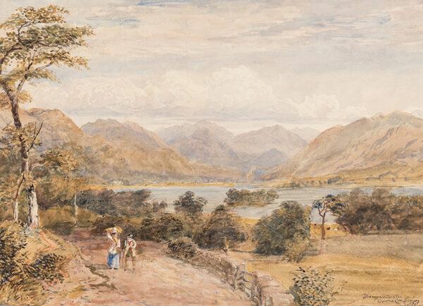 COX David Jnr. (1809-1885) - 'Derwentwater'.