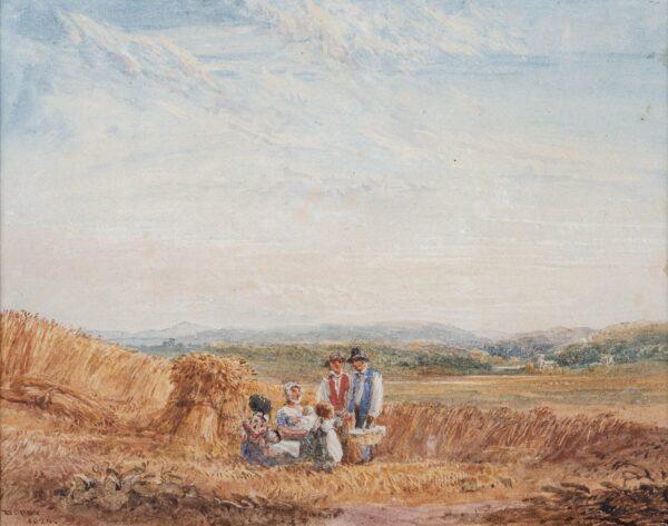 COX David O.W.S. (1782-1842) - Harvesters.
