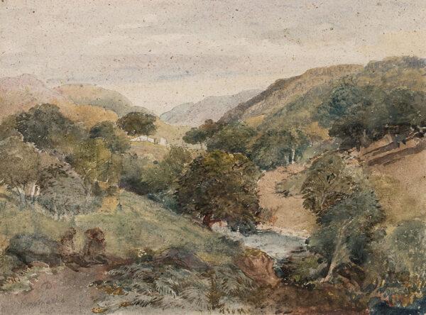 COX David Jnr (1806-1885) - 'Penmacho'(sic) North Wales.