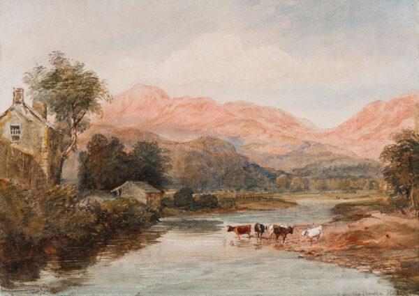 COX David Jnr (1809-1885) - 'Keswick'.