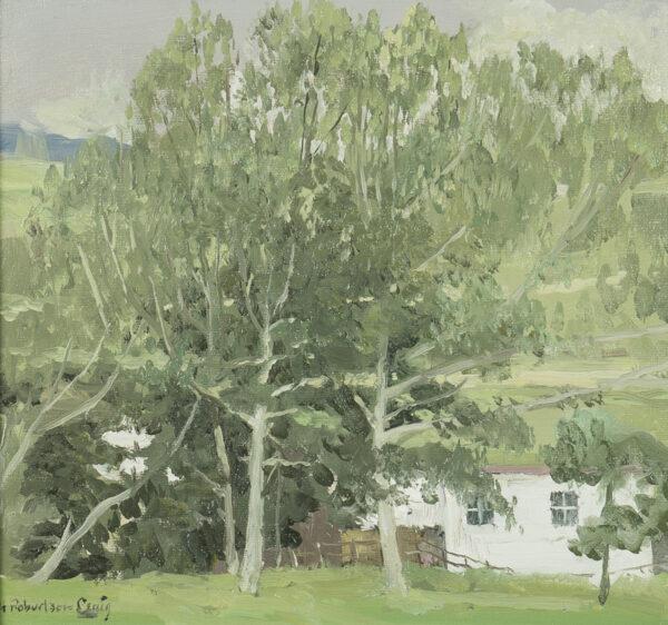 CRAIG Henry Robertson R.H.A. (1916-1984) - 'Mountain Farm'.