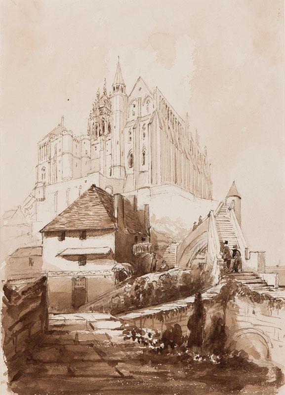 CRICHTON-STUART Lady James (Nee Hannah Tighe) (1800-1872) - 'Mount St Michel'.