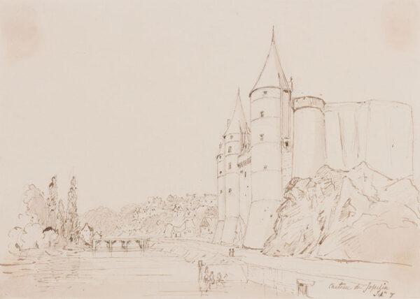CRICHTON-STUART Lady James (Nee Hannah Tighe) (1800-1872) - 'Chateau de Jopelin'.