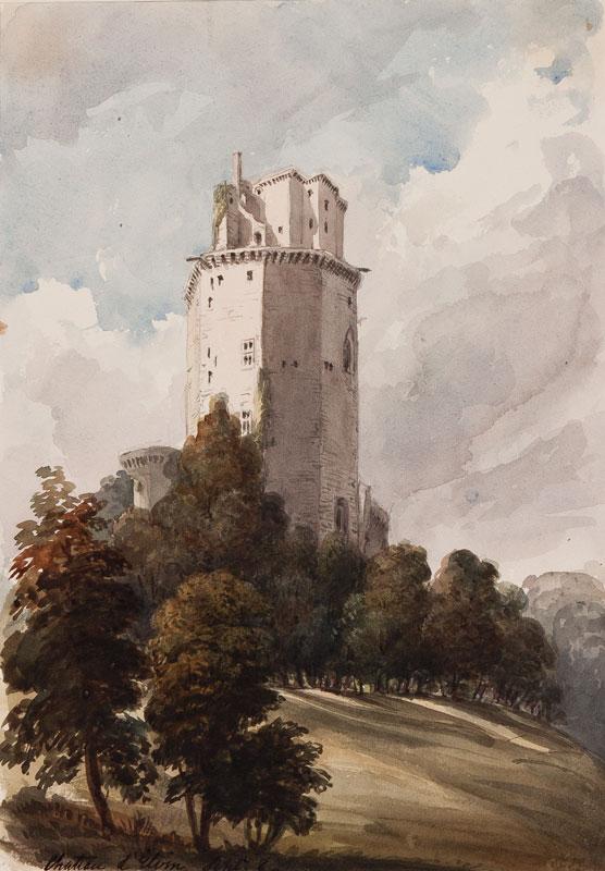CRICHTON-STUART Lady James (Nee Hannah Tighe) (1800-1872) - 'Chateau d'Elvin'.