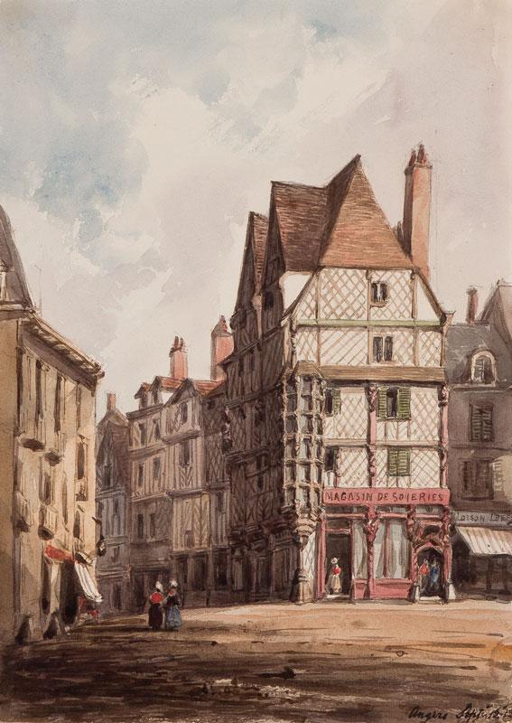 CRICHTON-STUART Lady James (Nee Hannah Tighe) (1800-1872) - 'Angers'.