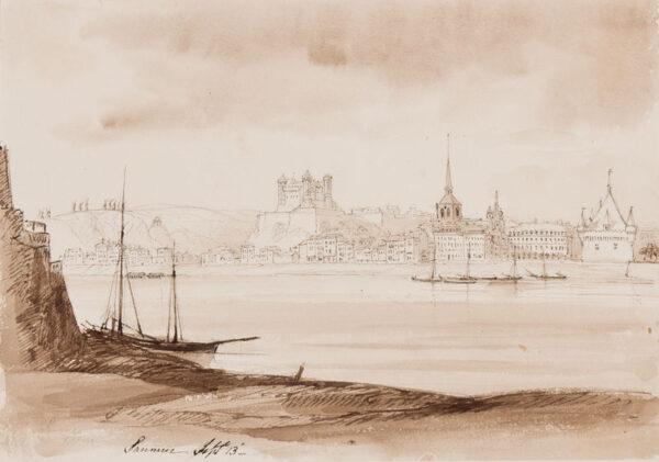 CRICHTON-STUART Lady James (Nee Hannah Tighe) (1800-1872) - 'Saumur'.