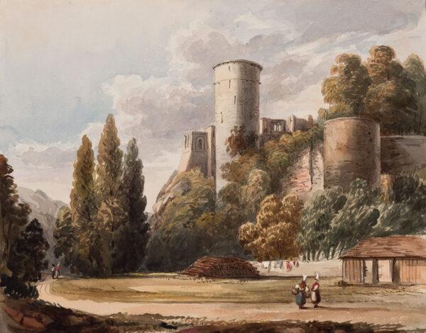 CRICHTON-STUART Lady James (Nee Hannah Tighe) (1800-1872) - 'Chateau de Falaise Brith Place of William the Conqueror'.