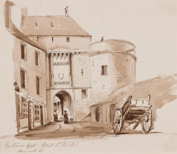 CRICHTON-STUART Lady James (Nee Hannah Tighe) (1800-1872) - 'Mt St Michel'.