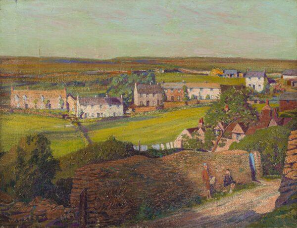 CRISTALL Walter (Exhibited 1925-1940) - Cornish landscape.