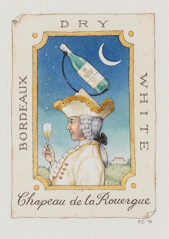 CROSS Peter (b.1951) - 'Chateau de la Roguergue'.