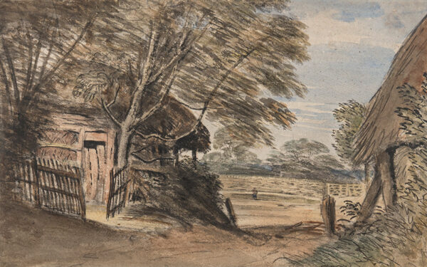 CROTCH Dr William (1775-1847) - Path between Woodperry and Beckley, Oxfordshire.