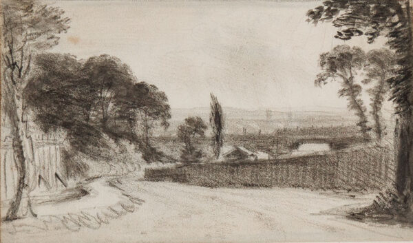 CROTCH Dr William (1775-1847) - London; 'Battersea and Kingston from Notting Hill'.