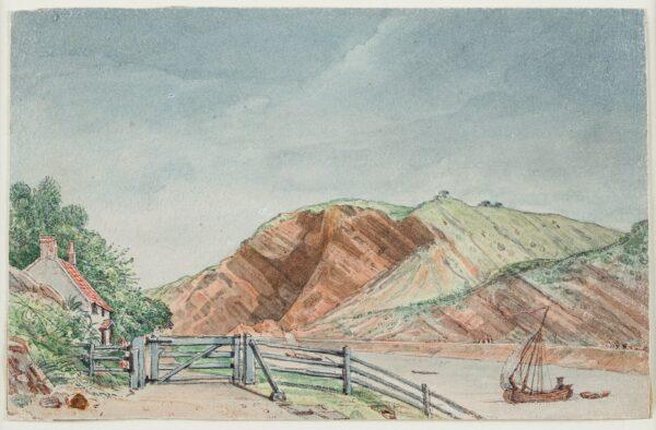CUMBERLAND George (1754-1848) - 'Tea House / Leigh Wood Gate'.