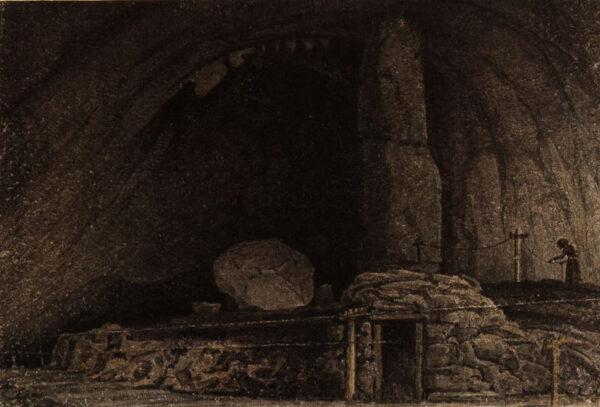 CUMBERLAND George (1754-1848) - Peak Cavern, Rope Walk.