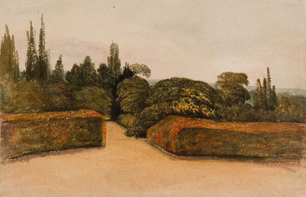 CUMBERLAND George (1754-1848) - Oxford; The Botanic Gardens.