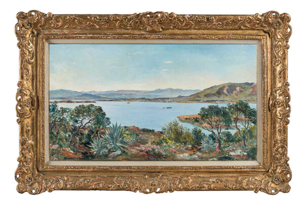 CUNDALL Charles R.A. R.W.S. (1890-1971) - 'Kavouri, near Athens'.