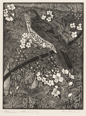 DAGLISH Eric Fitch (1892-1966) - 'Blossom and Bird Song'.