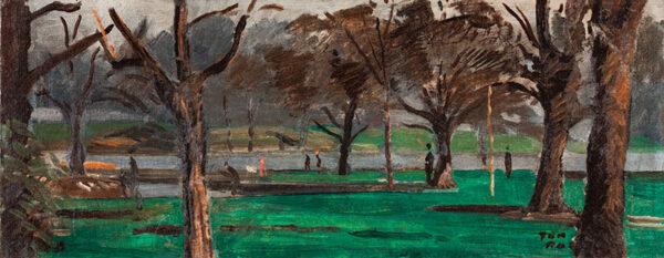 DAINTRY Adrian (1902-1988) - 'Regents Park'.