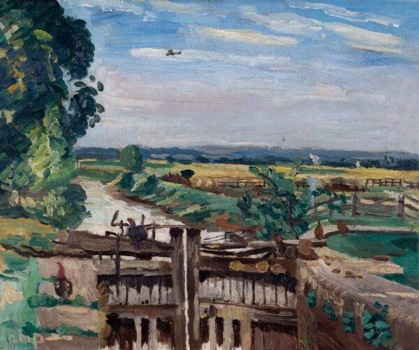 DAINTRY Adrian (1902 - 1988) - 'London to Paris': the daily Imperial Airways de Havilland DH.