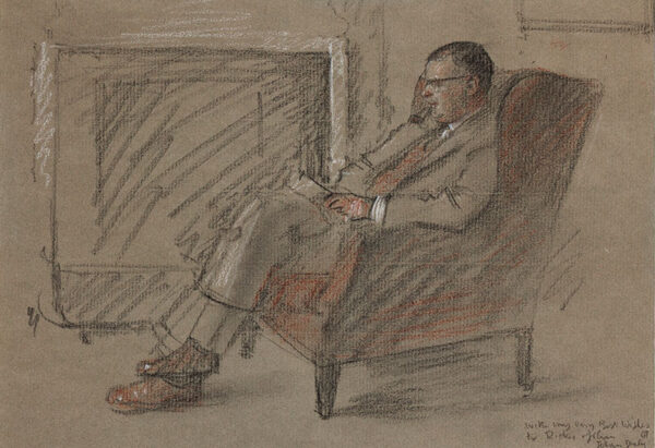 DALY Jehan (1918-2001) - Portrait.