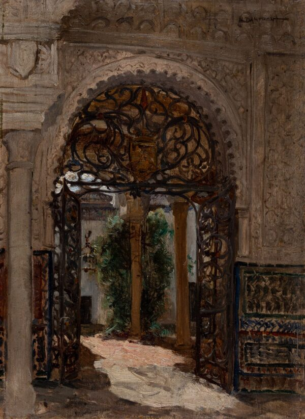 DAMERON Emile (1848-1909) - Moorish Spain.