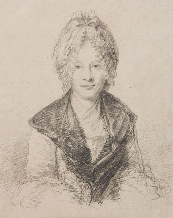 DANCE Nathaniel (1735-1811) - Eva Maria Garrick (nee Veigel).
